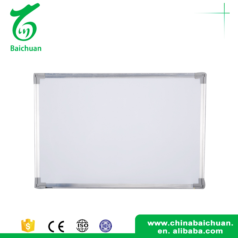 low price magnetic dry erase white board melamine