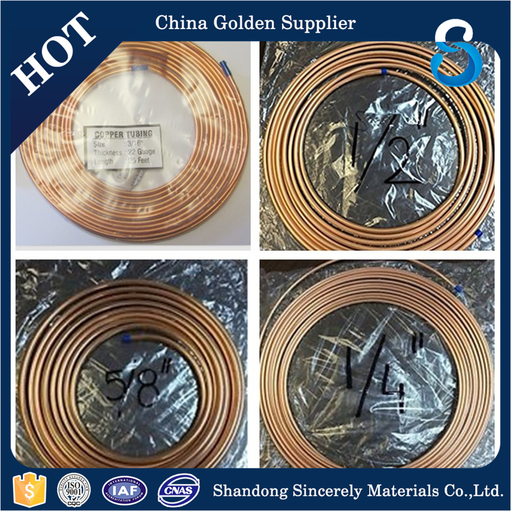 Factory supply air conditioner copper pipe/tube