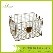 Functional Cheap Decorative Wire Storage Basket For Sale