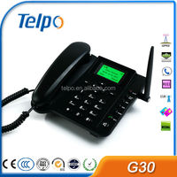 TELPO 2G/3G (WCDMA) Landline Phone / Fixed Wireless Phone with SIM Card G30