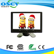 High contrast and brightness, wide viewing angle, clear image layering touch monitor