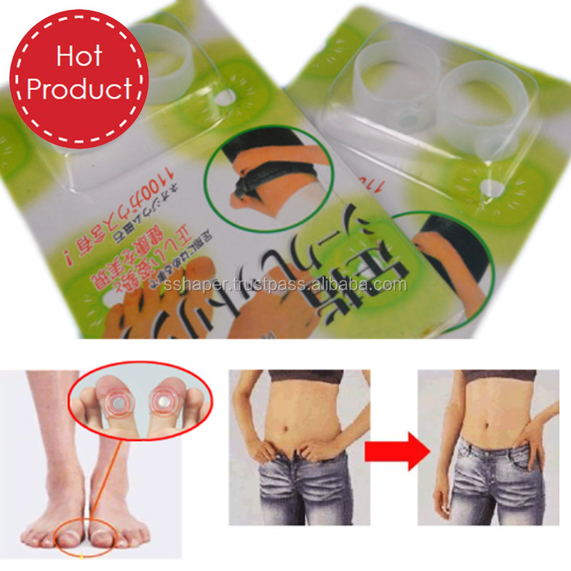 S-SHAPER OEM China Factory Slimming Foot Toe Ring Massage Ring Silicone Health Fitness Loss Weight