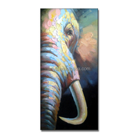 Newest Handmade Modern Animal Oil Painting For Decor
