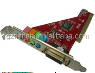 ESS chipset PCI 4CH sound card with game port