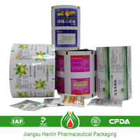 roll pharmaceutical plastic laminated film