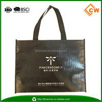 new promotion non woven bags made from recycled materials
