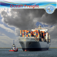 International cheap shipping rates by sea freight from China to Mauritius/Tunis/Johannesburg