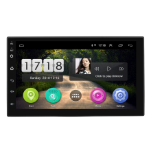 2019cheapest android 8.1 7inch universal car radio 2-din android gps with bluetooth GPS Mirror link