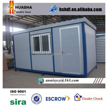 Low-cost durable and stable portable movable shipping container temporary building