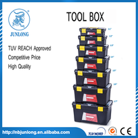 JUNLONG NINGBO OEM16.5 INCH PP NEW PLASTIC TOOL BOX PROMOTION PRODUCT MADE IN CHINA
