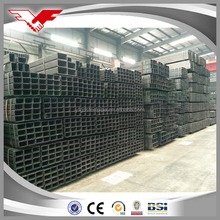 SS400 cold rolled/formed annealed black steel tube /steel hollow sections