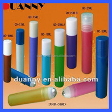 WHOLESALE PLASTIC ROLL ON BOTTLE PERFUME,FULL PLASTIC MATERIAL ROLL ON BOTTLE WITH PET