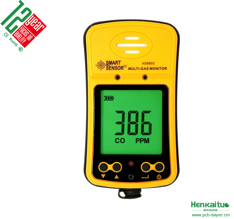 High Sensitive Digital Hydrogen Sulfide Gas Detector Portable Carbon Monoxide Detector H2S Monitor