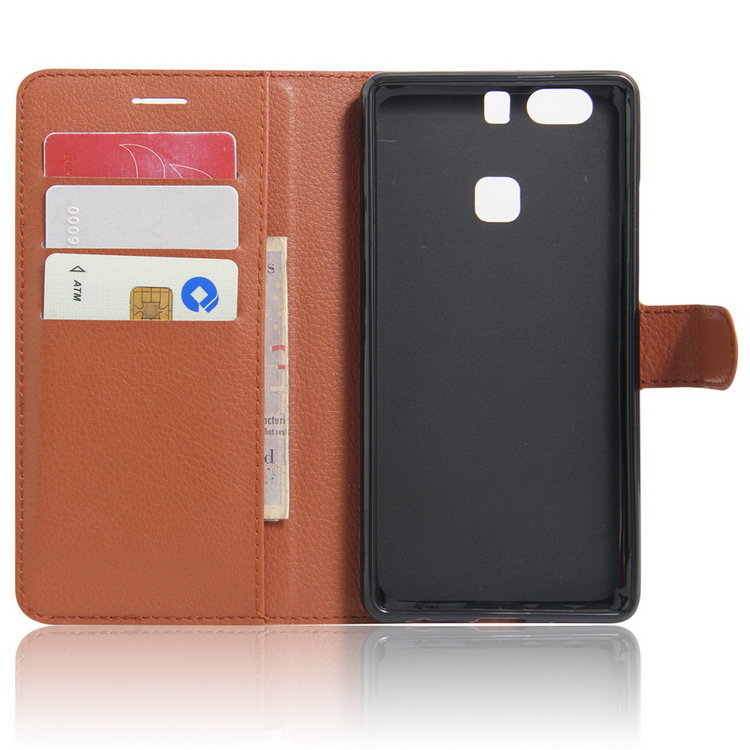 Excellent quality OEM pu leather flip case for huawei p9 plus
