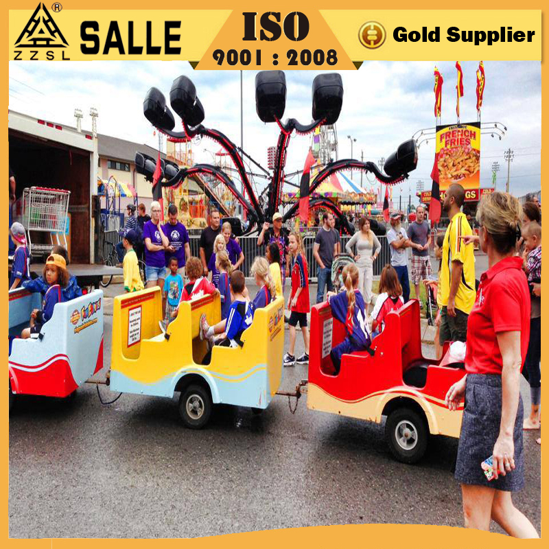 Newest amusement park entertainment games shopping mall electric trains for sale