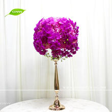 GNW CTRA1705033-A wedding table decoration wedding flower ball stand centerpieces with aritificial flower