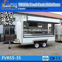 FVR55 New model mobile food van High quality mobile food van mobile food van for sale