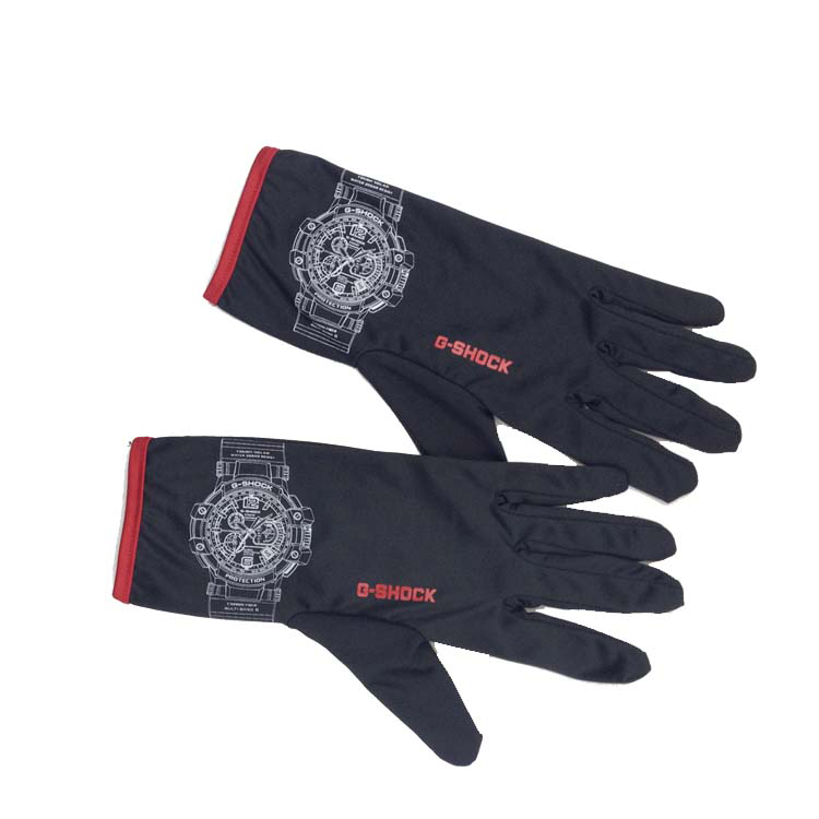Custom Logo Printed Microfiber Jewelry Gloves For Handing And Cleaning Jewelry