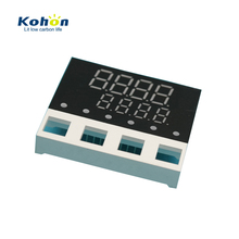 Fit perfectly for customer's products with 8 digits bi-color 7 segment led display
