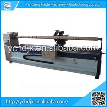 Good quality manual fabric roll slitting machine