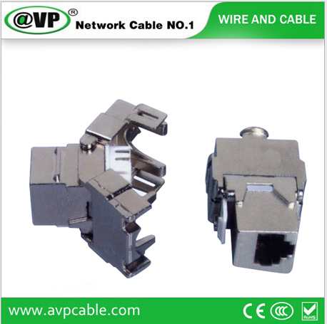 Cat6 Keystone Jack tooless RJ45 Ftp Module