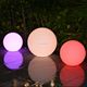 2018 newest hot selling christmas led light balls giant swimming pool balls led mood light ball with 16 colors changing