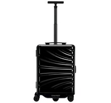 intelligent automatic track single luggage case with USB charger intelligent sensor tacking case