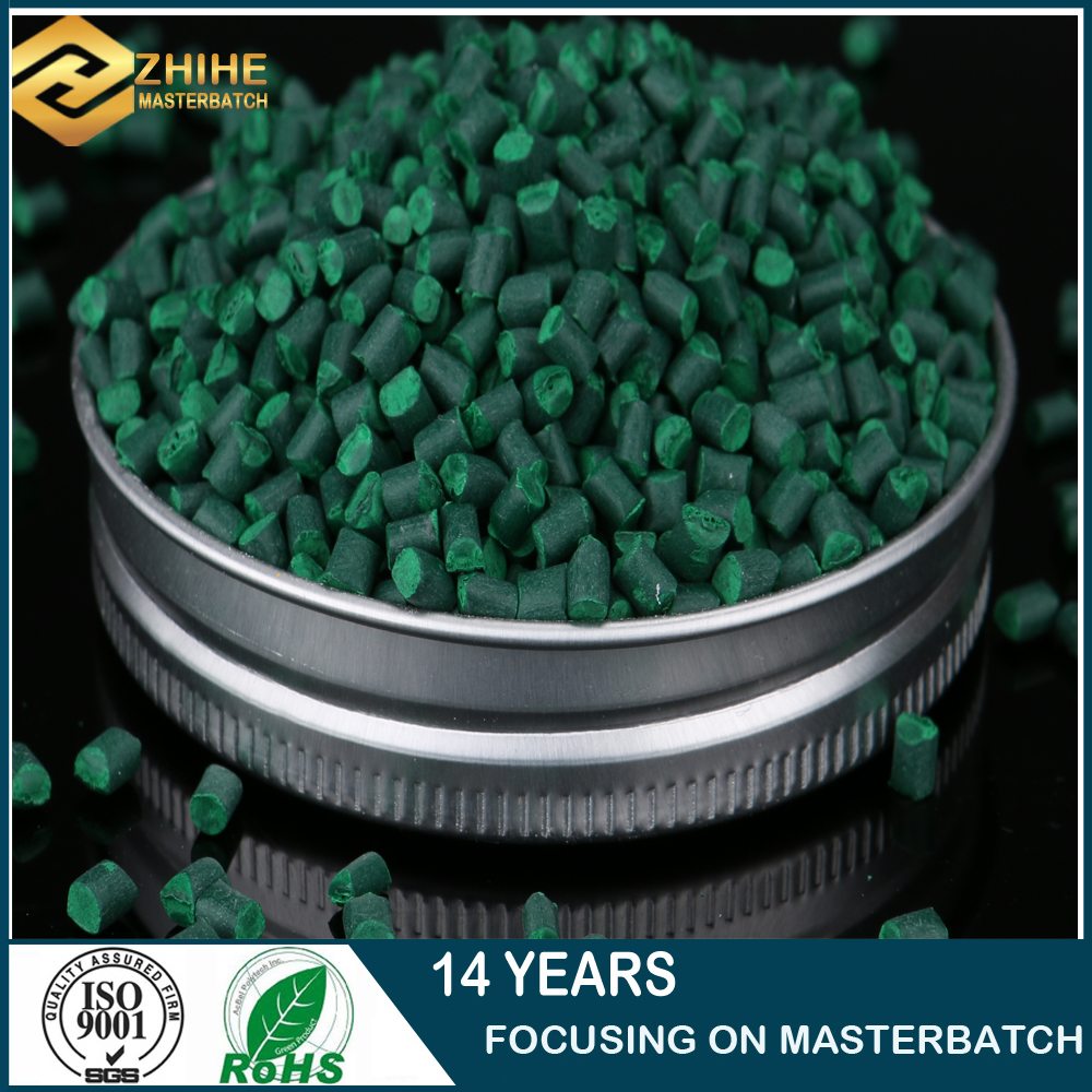 master batch for plastic water bottle use green color masterbatch
