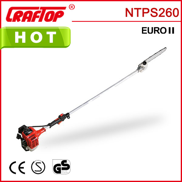 telescopic chainsaw 26cc for small branch cutting