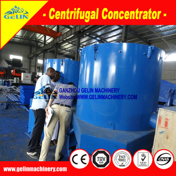 99% recovery ratio Alluvial gravity Nelson gold centrifugal separator