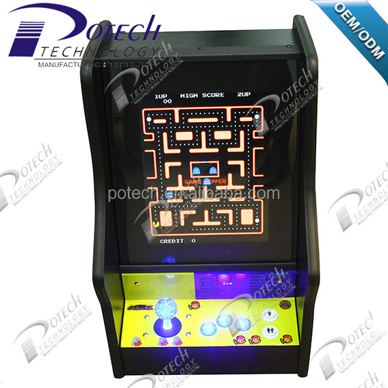 15 inches Retro mini bartop game machine with top quality for 1 player