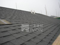 IVON Double layer fibreglass asphalt shingle colorful asphalt shingles