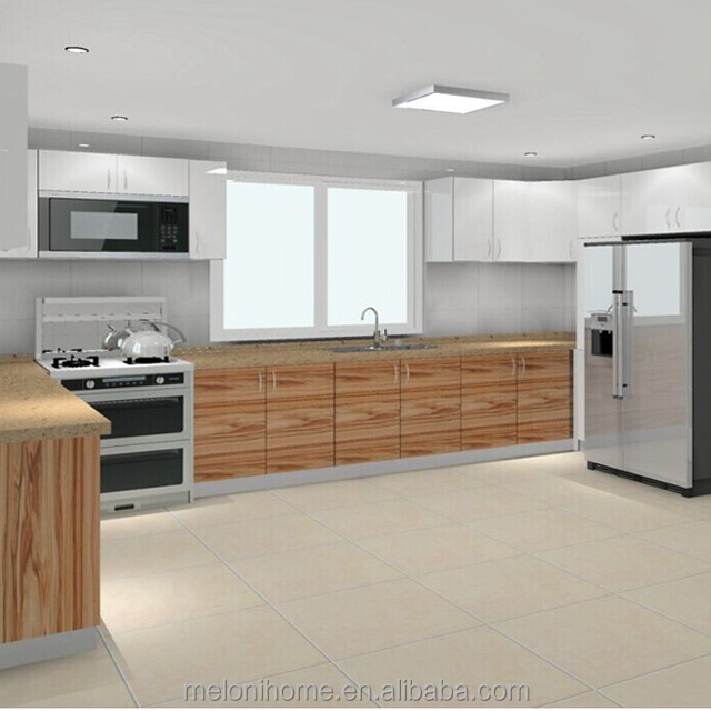 contemporary pvc kitchen cabinet in elegance for home