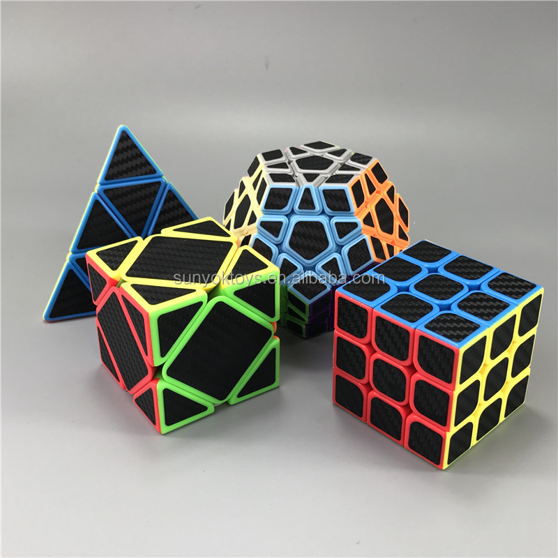 CYCLONE BOYS Puzzle Cube Rainbow Dodecahedral stickerless plastic Educational toys