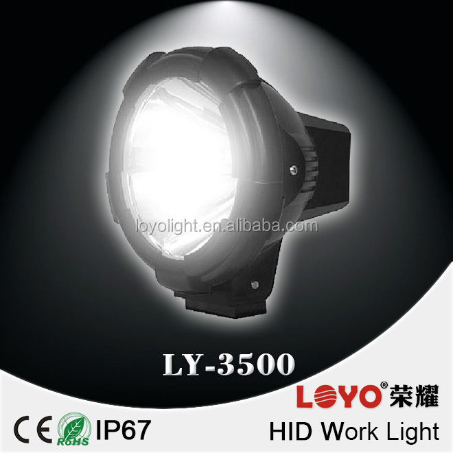 "CE ROHS IP67 Approved 9"" 100w HID Driving Light 100 watt hid offroad light for SUV, Car, ATV, 4x4"
