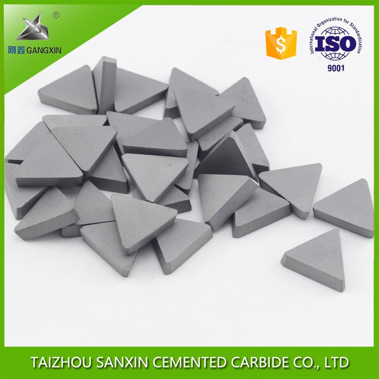 china supplier p30 tips carbide triangle tips for milling tungsten carbide tips