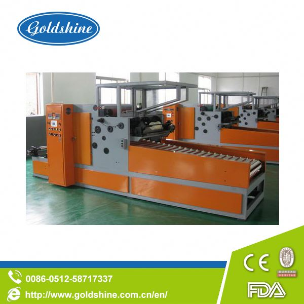 Goldshine Automatic aluminium foil roll rewinding machinery reefer container price