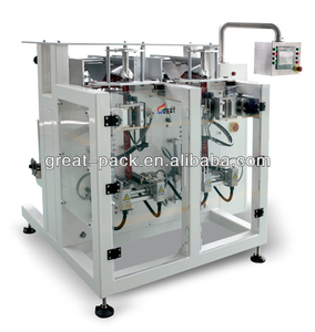 Japan technology GP240B vertical form fill seal machine,small sachets sugar powder packing machine price