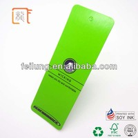 smooth paper hang tag for garments factory