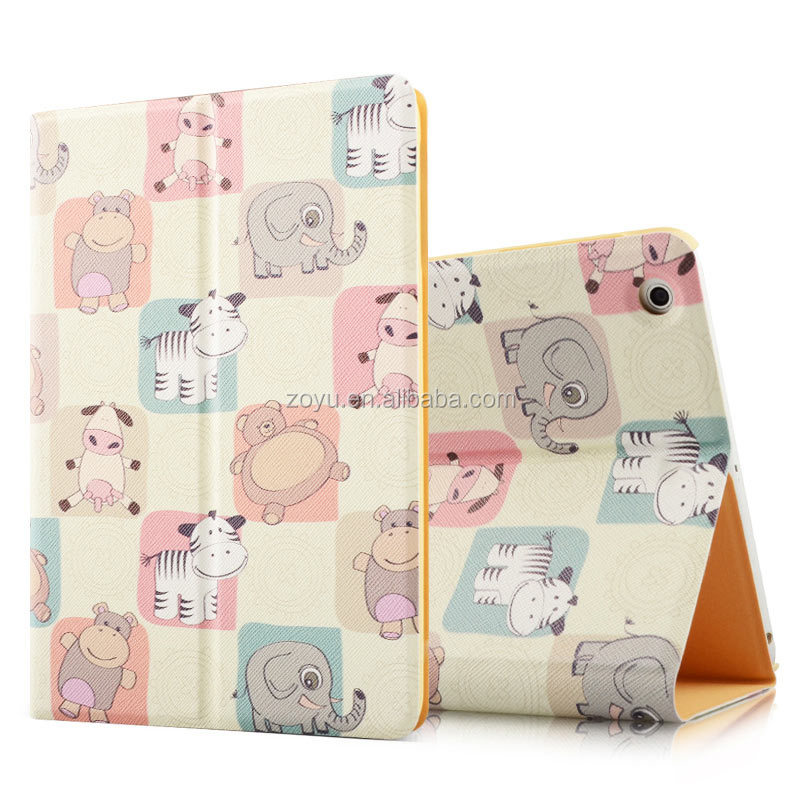 happy dog silicone tablet cases for ipad 4 case, cartoon case for ipad4 tablet