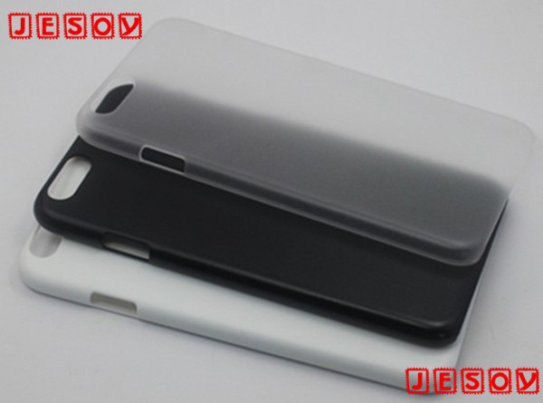 JESOY Plain Plastic Transparent Blank Cell Phone Cases For iphone 5 5s 6 6s UV Printing