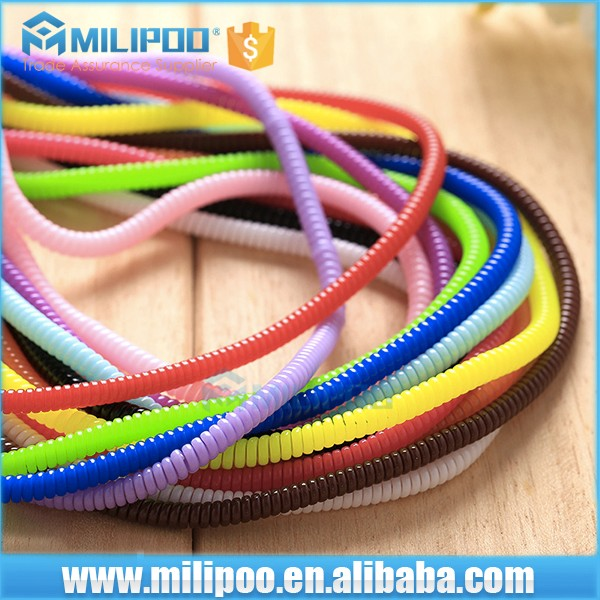 Wholesale Spiral Cord Protector for Apple cable and Headphone cable protector
