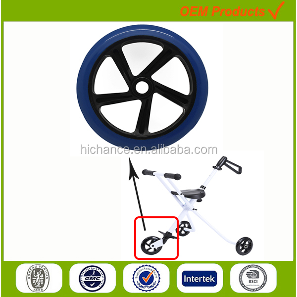 200mm folder Golf Push Pull Cart Trolley wheel