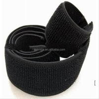 hook and loop elastic strap 2 inch