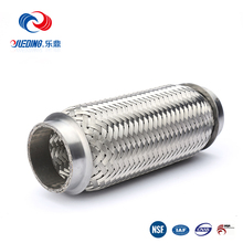 stainless steel exhaust flexible pipe engine exhaust/car exhaust muffler