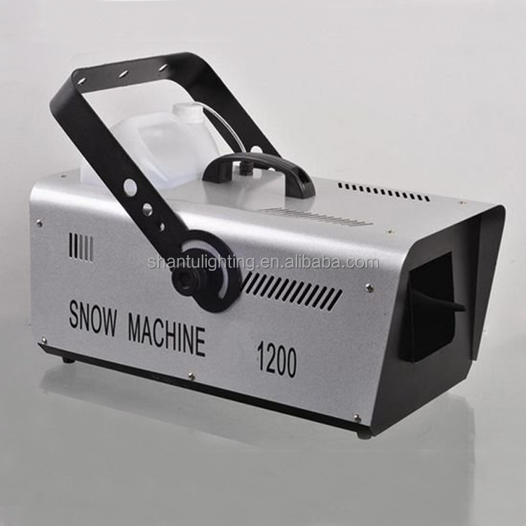 Guangzhou Stage Effect 1200W Disco DJ Wedding Used Machine Snow Machine