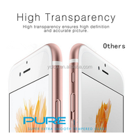 stainless steel for iphone 6/6s plus screen protector , for iphone 0.26mm tempered glass film