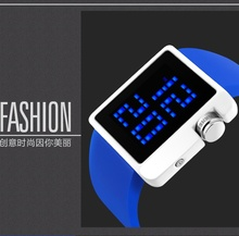 wholesale Ice cream color watch touch screen watch #1145