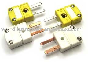 Miniature Thermocouple Connectors,plug, K type,flat pin
