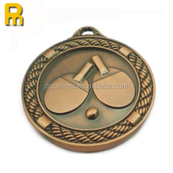 2016 medal custom logo with plating gold sliver and bronze
